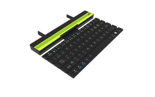 wireless bluetooth rolling keyboard