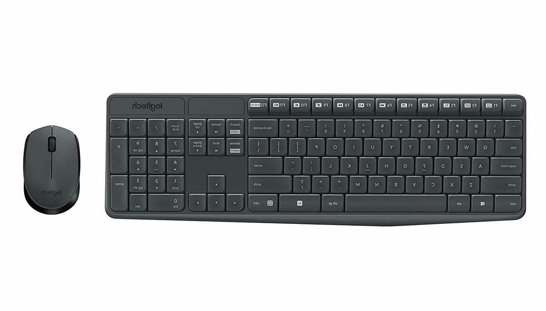 Wireless Combo Full Keyboard With Nano