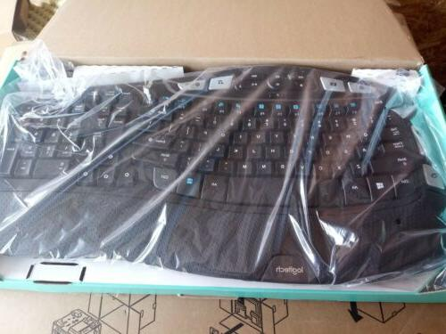 Logitech Combo with and Mouse Black