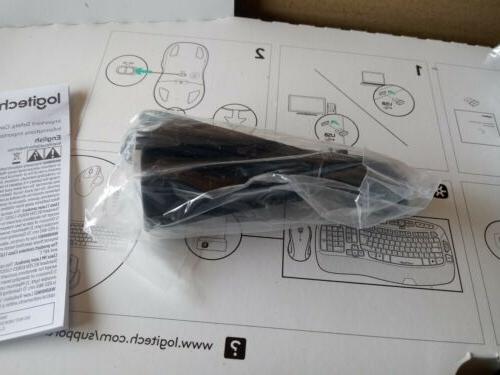 Logitech Combo MK550 Keyboard and Laser Mouse Black