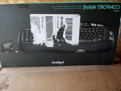 wireless comfort wave combo mk550 with keyboard