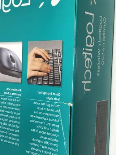 Logitech Wireless Keyboard Combo NEW