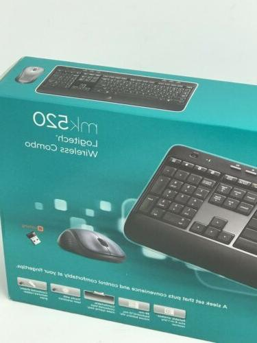 Logitech Wireless Keyboard Mouse Combo NEW SEALED