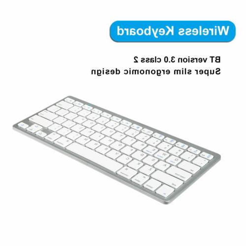 Wireless Keyboard & Wireless w/ USB Receiver Mac Pc