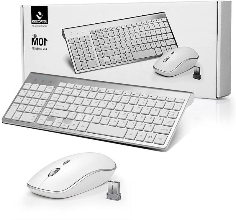 2.4G Wireless Mouse Combo Mac Size Slim