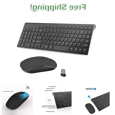wireless keyboard and mouse combo 2 4g