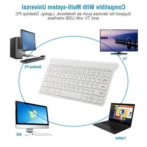 Wireless Combo Desktop Laptop with USB Receiver