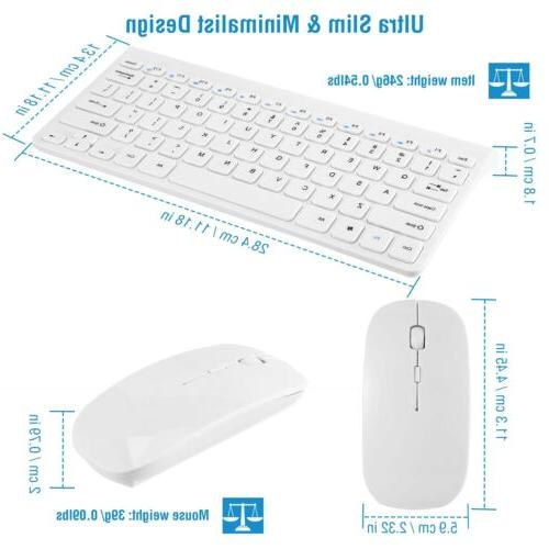 Wireless Keyboard Combo Laptop with