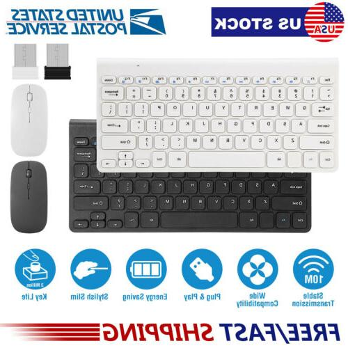 wireless keyboard and mouse combo computer desktop
