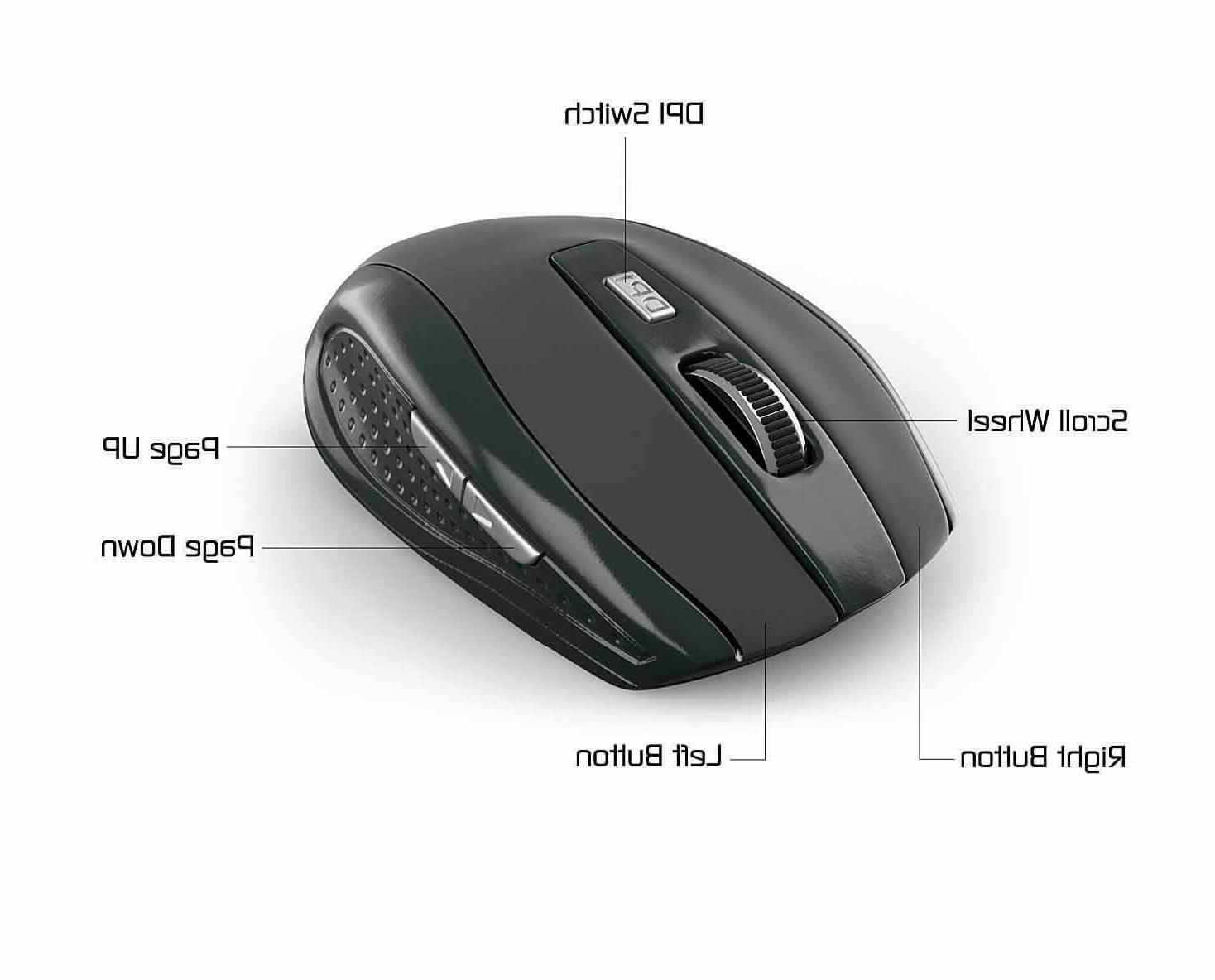 Wireless Mouse Combo Computer Cordless Remote