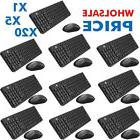 Wireless Keyboard and Mouse Combo, iK6630 2.4GHz Cordless Cu