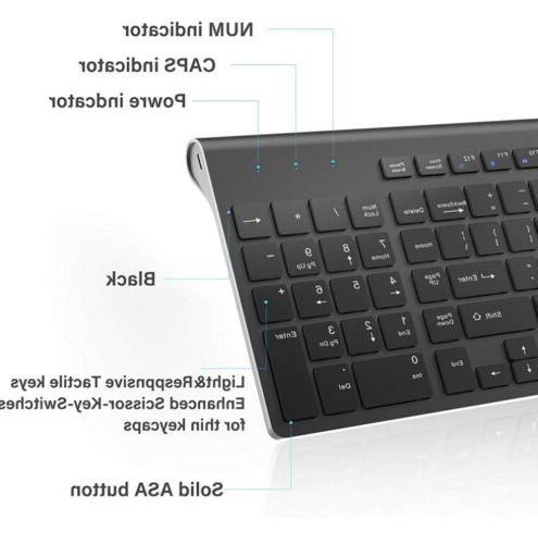 Wireless Combo-J JOYACCESS Portable space gray+Black