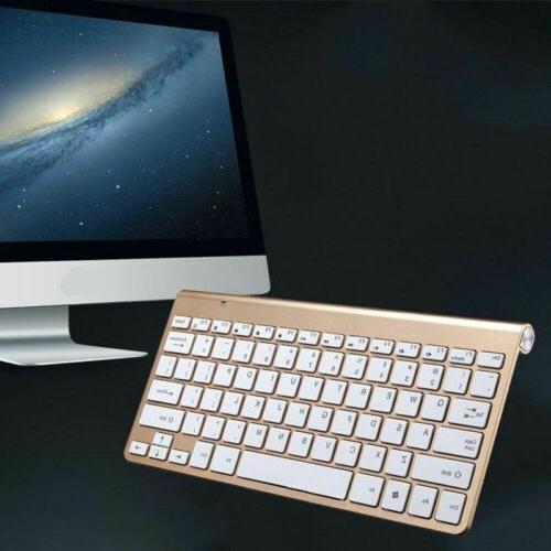 2.4G Mini Keyboard Mouse Combo For Apple iMac/PC/Laptop