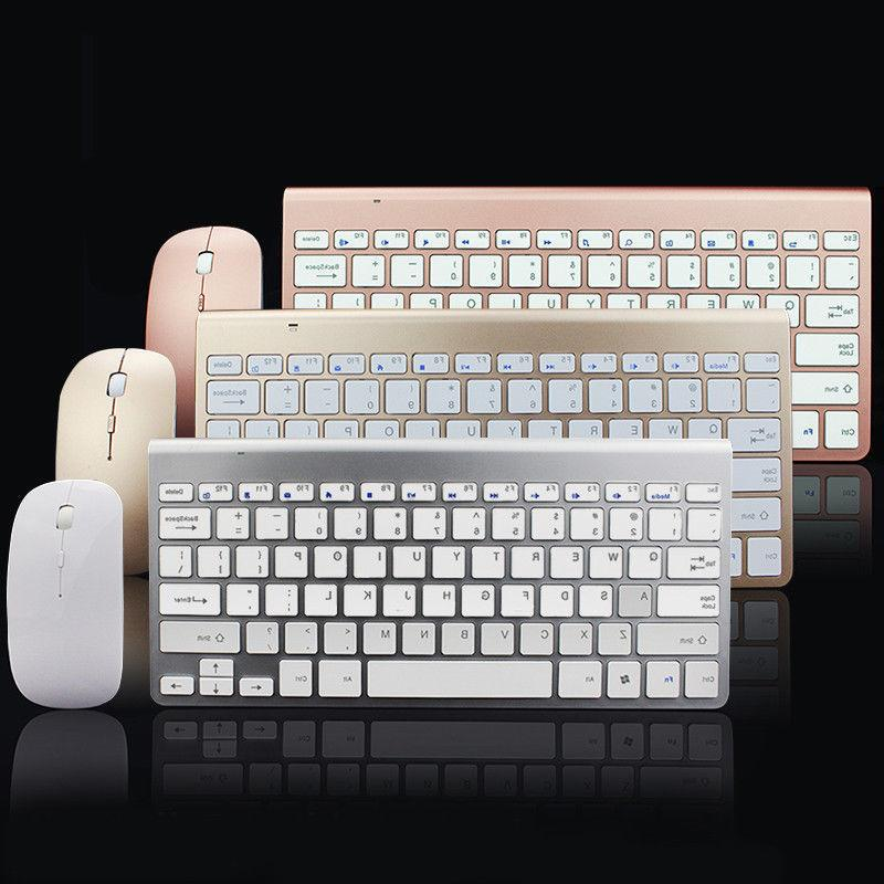 Wireless Keyboard And Mouse Combo Set 2.4G For Mac Apple Win