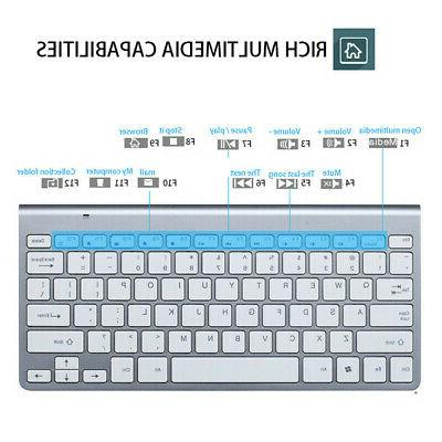 US 2019 Best selling mini wireless keyboard and mouse set wa