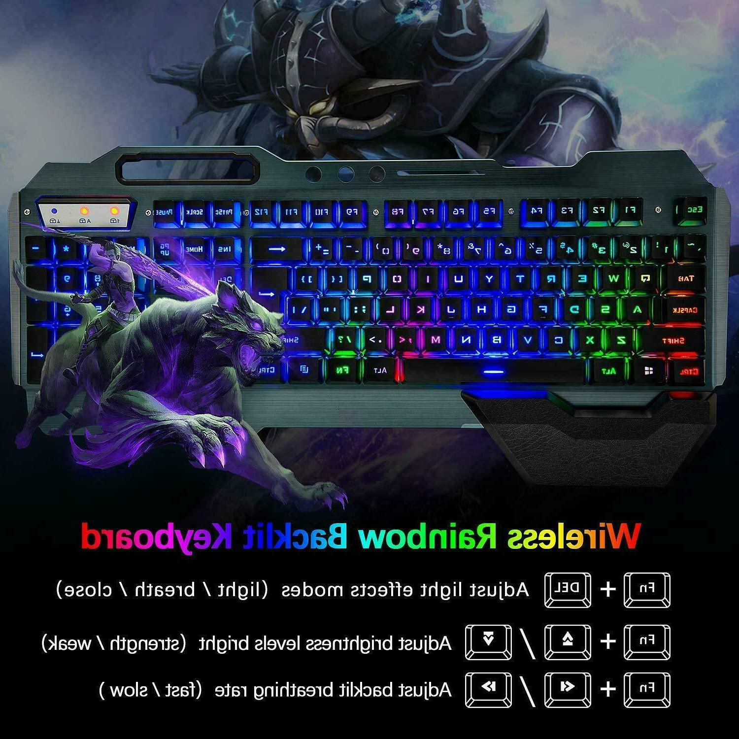 Wireless Rainbow LED for PS4 Gamers