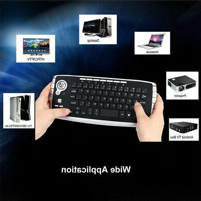 2.4GHz Mouse Scroll Wheel Accessories Wireless Keyboard Ergo