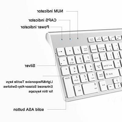 Wireless Keyboard, 2.4G Wireless
