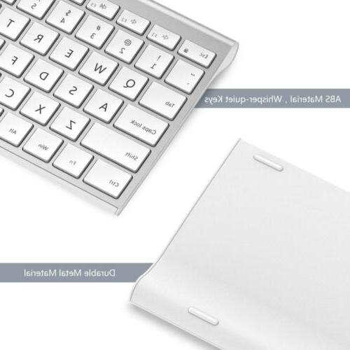 Wireless Keyboard Mouse, Comb Slim Full Size