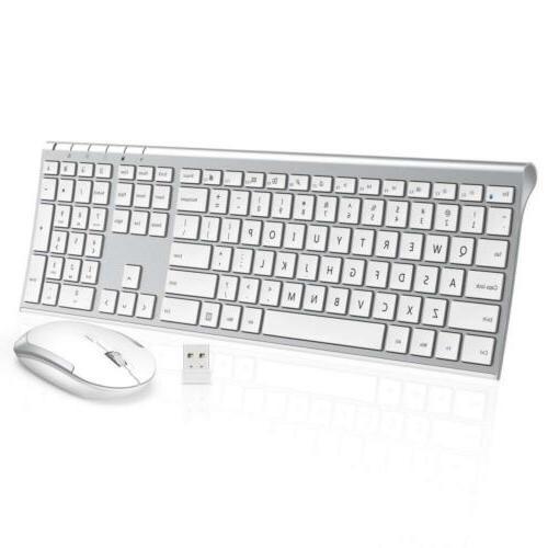 wireless keyboard mouse 2 4ghz ultra slim
