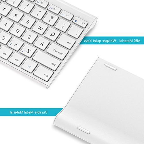 Wireless Comb 2.4GHz Slim Wireless Keyboard and Combo Windows, Notebook, PC, Desktop,