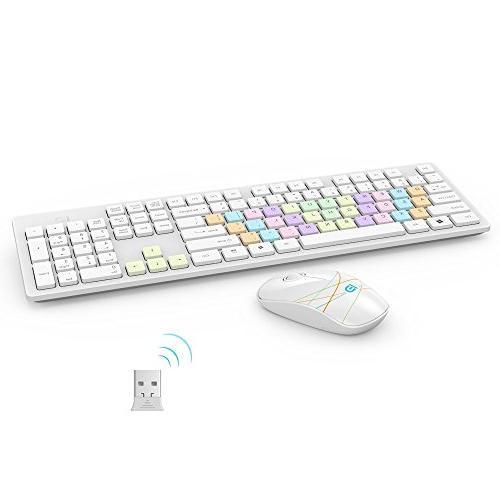 Wireless Keyboard Mouse Combo FD G9500 Fashion Combo for PC Mac