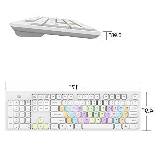 Wireless and Combo Fashion Ultrathin Combo Mac