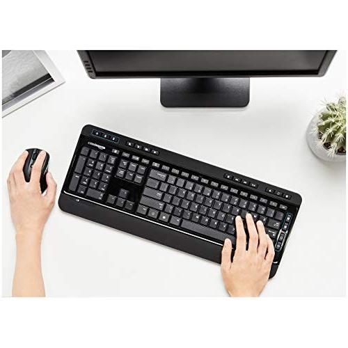 AmazonBasics Keyboard Mouse Size -