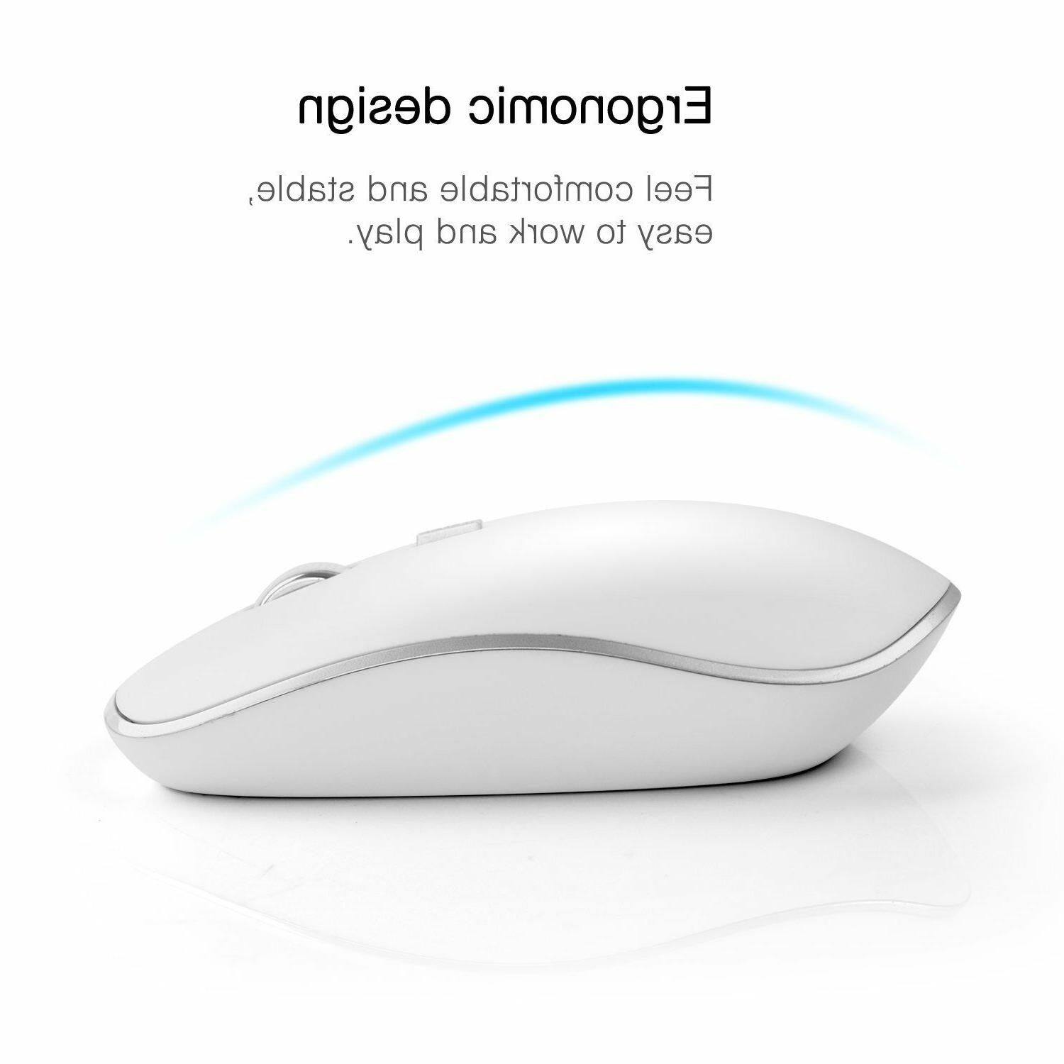 Wireless And Mouse Bundle Combo Set For Mac Apple 2.4G