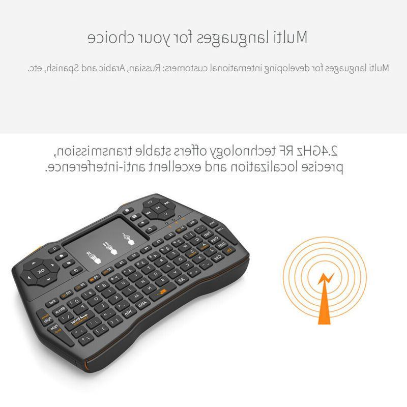 Wireless Keyboard Touchpad Combo TV su