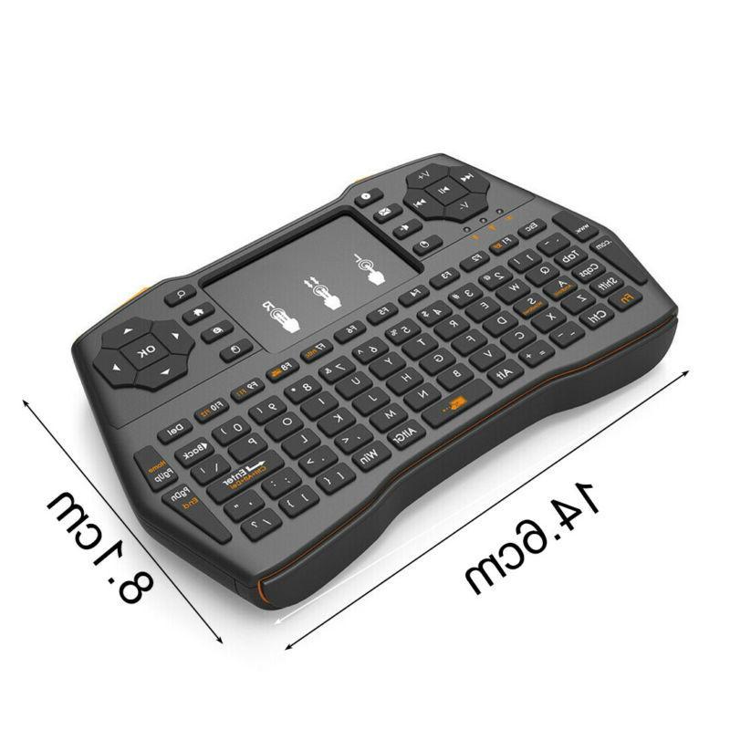 Wireless Touchpad Combo PC TV Box su