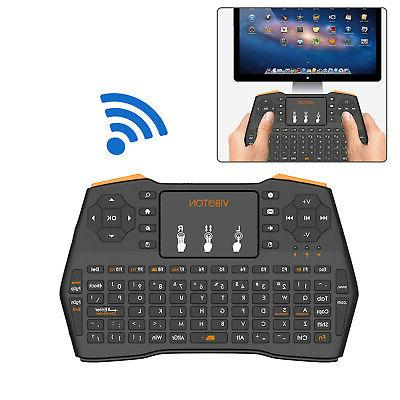 wireless keyboard touchpad mouse combo for pc