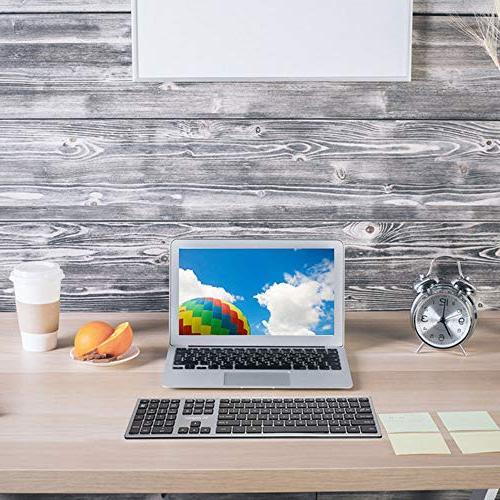 Vitalitim Wireless Ultra Slim Connection, 110 Keyboards,Compatible Mac/Windows