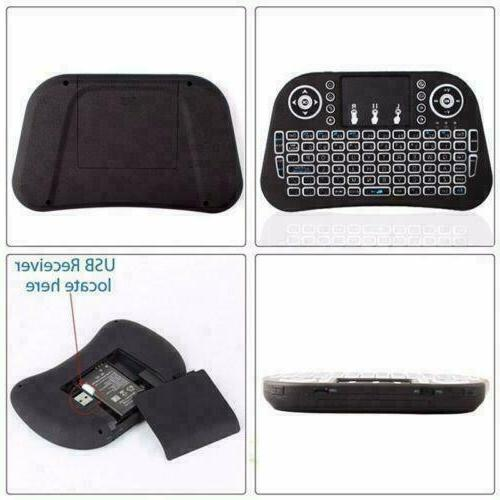 Wireless Mini Keyboard Control Touchpad Smart TV Android TV PC 2.4GHz