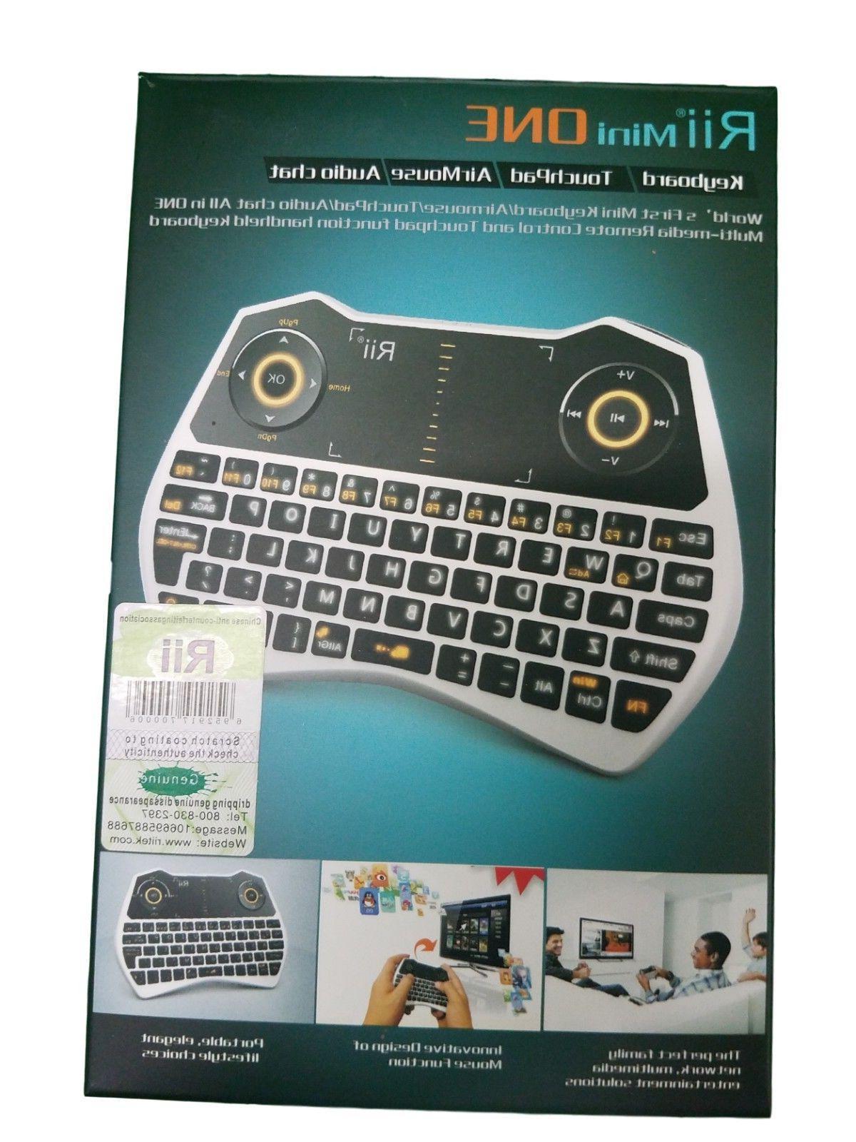 Wireless Mini Keyboard Rii i28W Remote Control