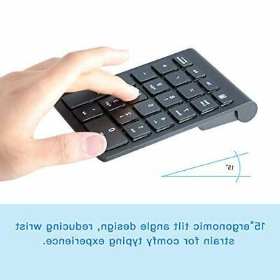 Wireless Keypad, Keyboard Number Pad