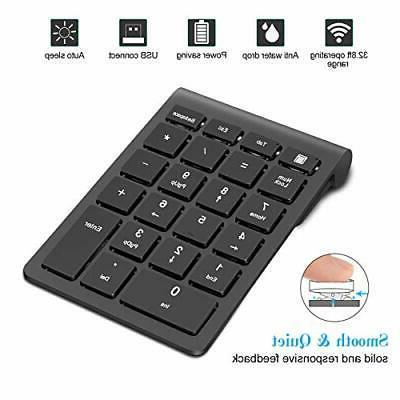 Wireless Keypad, TRELC Keyboard Number