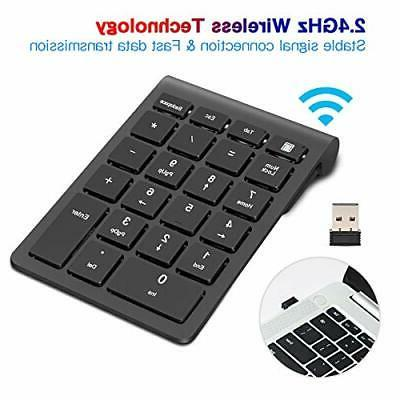 Wireless Numeric Keypad, TRELC Keyboard 22 Number Pad with