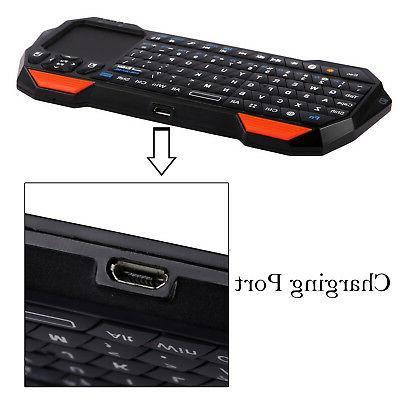 Wireless mini Bluetooth Keyboard Touchpad Windows Android