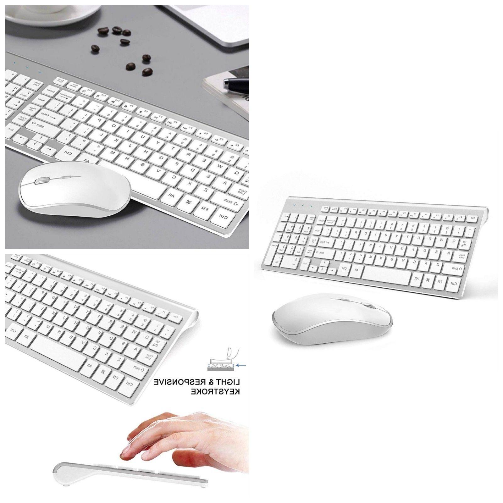 wireless slim keyboard and mouse combo 2