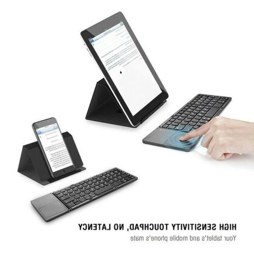Wireless Keyboard For Computer And Phone Portable Foldable