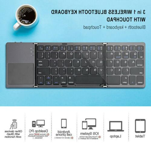 wireless touchpad bluetooth keyboard for computer