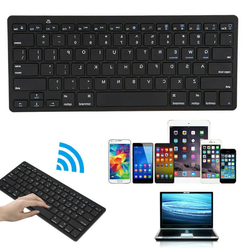 Wireless Keyboard Gaming Office Portable For Laptop PC Compu