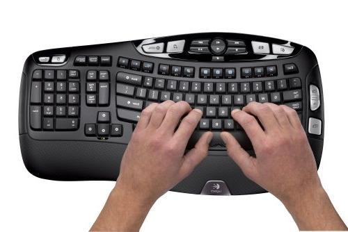 Logitech Wireless Mk550 Keyboard Laser Mouse