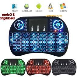 Light I8 2.4GHz Mini Wireless Keyboard Remote Controls for P
