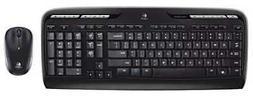 LOGITECH LOG920002836 Keyboard/Mouse Set,Wireless,Optical