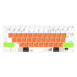 JRCMAX Macbook Keyboard Cover,Premium Mac OS Shortcuts Keybo
