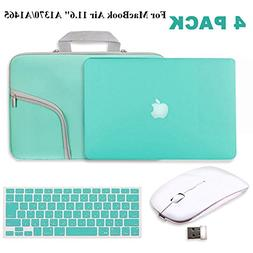 """Turquoise Matte Hard Case for MacBook Air 11.6""""-IC ICLOVER R"""