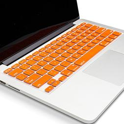 Kuzy METALLIC NEON ORANGE Keyboard Cover for MacBook Pro 13""