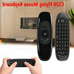 C120 2.4 Remote Control Air Mouse Wireless Keyboard for KODI